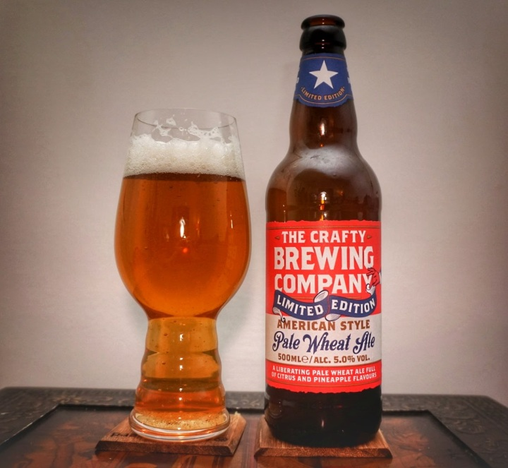 Crafty Brewing Company – American Style Pale WheatAle