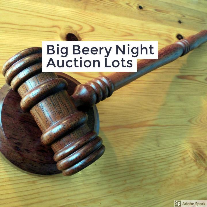 #BigBeeryNight17 Auction Lots