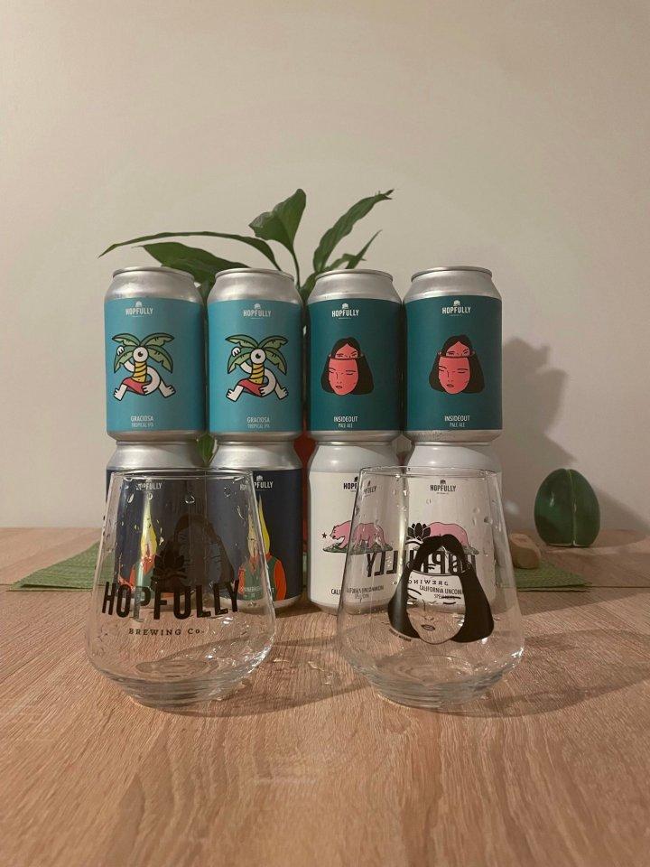 Hopfully Brewing Company, Art &Beer